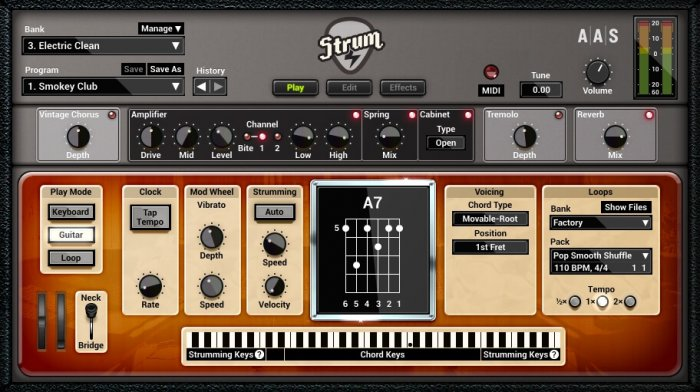 AAS Strum GS-2 Synthesizer