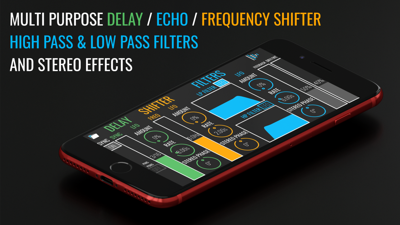 BLEASS Delay Is A New AUv3 Delay Effect Processor For iOS!