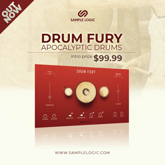 Sample Logic Drum Fury Apocalyptic Drums