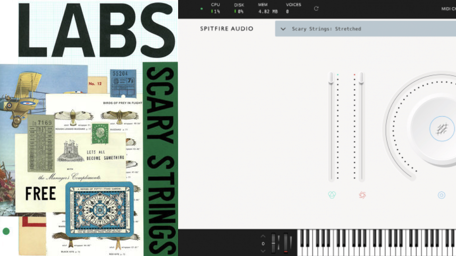 Spitfire Audio LABS Scary Strings Virtual Instrument Out Now