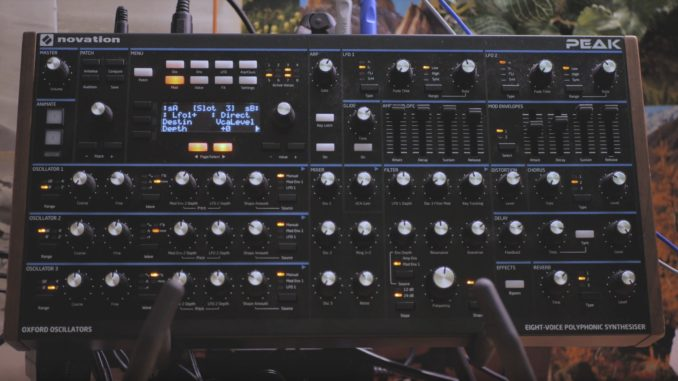 Novation Peak's Ambient