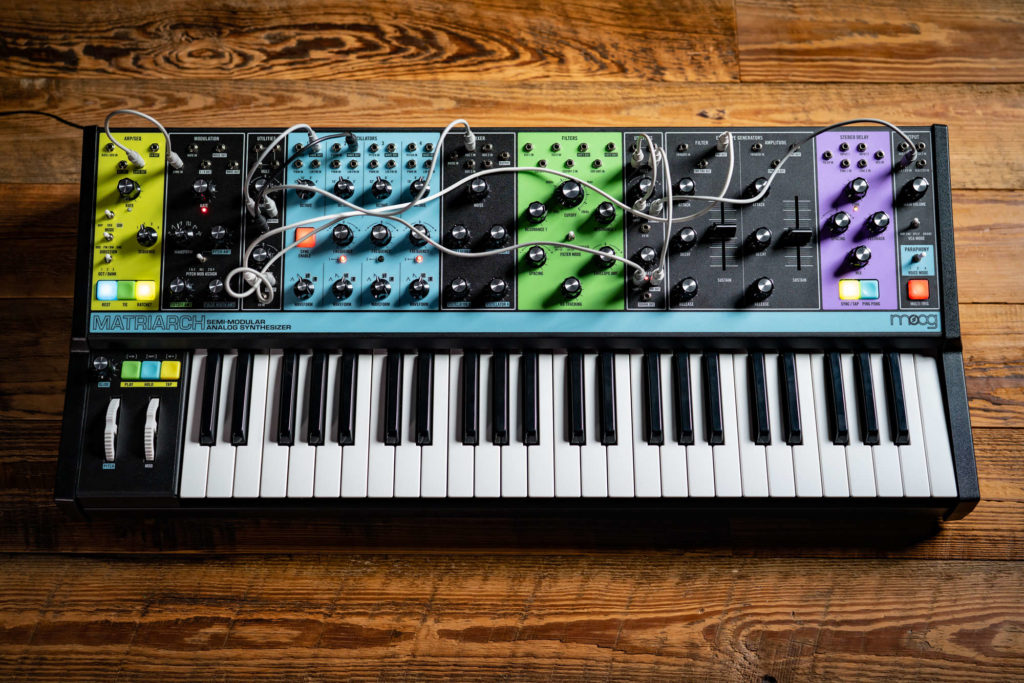 Moog Matriarch Sound Demos