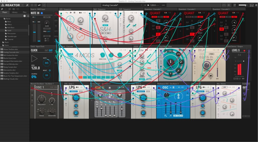 Reaktor 6.3 Blocks Prime