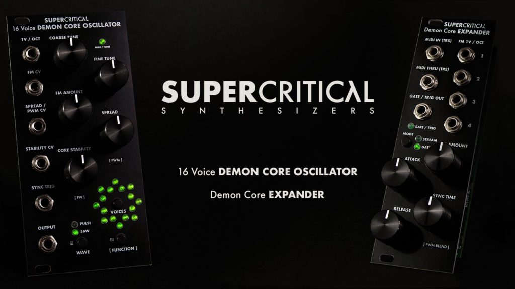 Supercritical Synthesizers