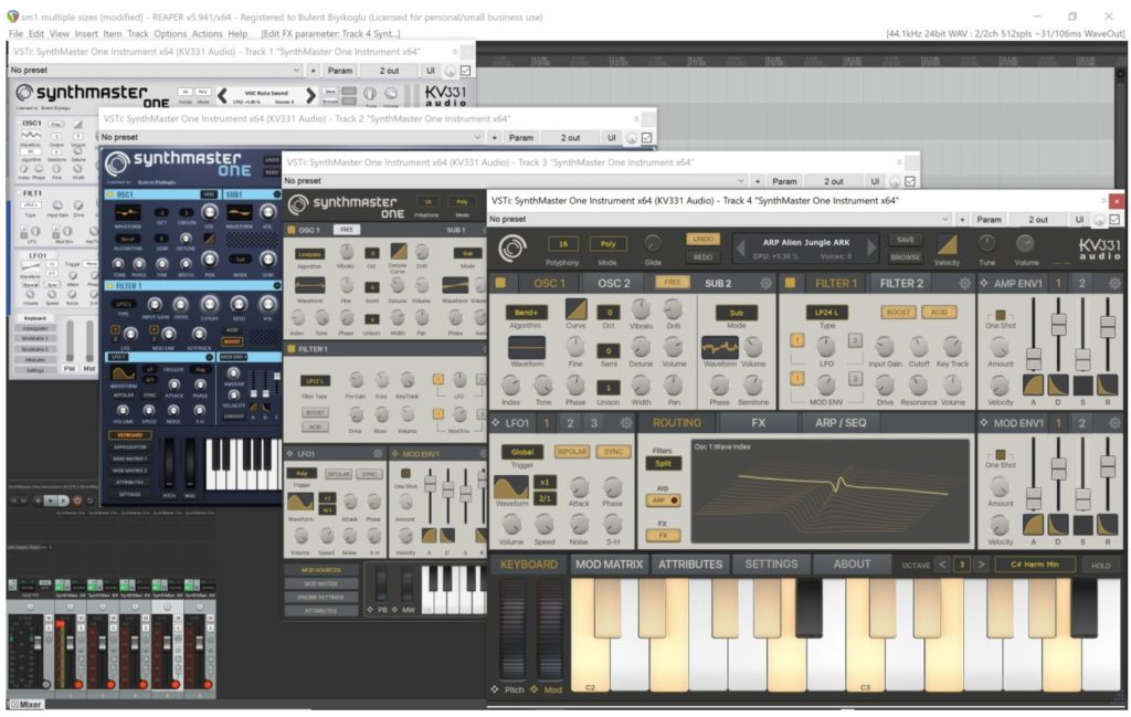 KV331 Audio Synthmaster One 1.2