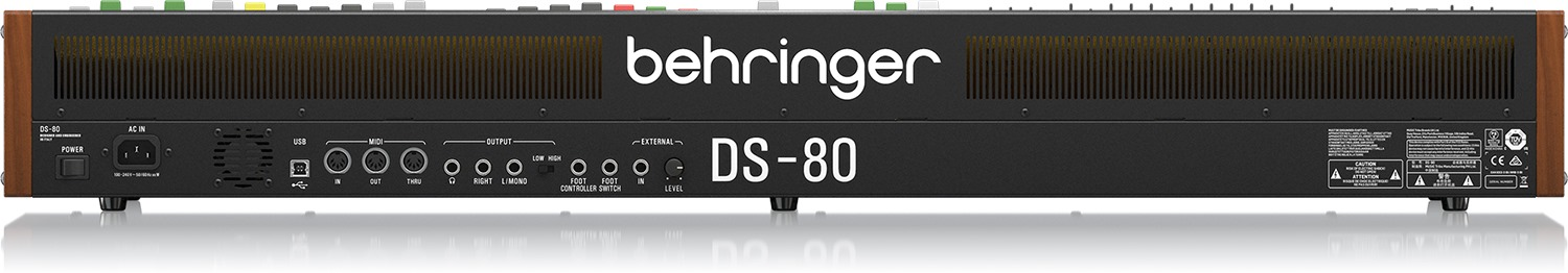 Behringer DS-80 Synthesizer Announced, Clone Of The Yamaha CS-80