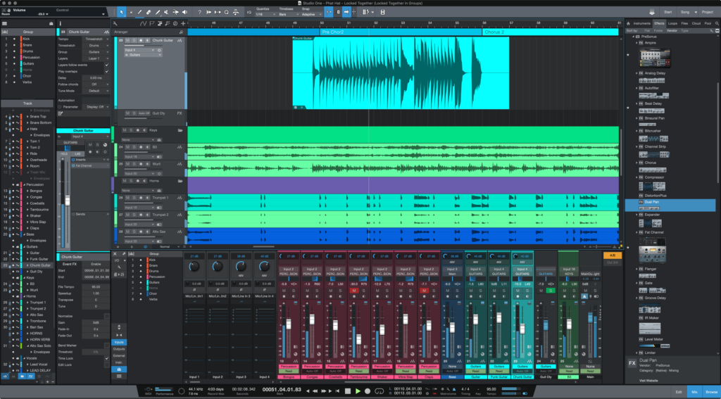 Presonus Studio One 4.5 Update