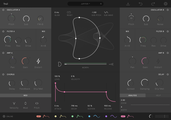 Wave Casual's New Nylon Synthesizer Plugin Uses Geometric