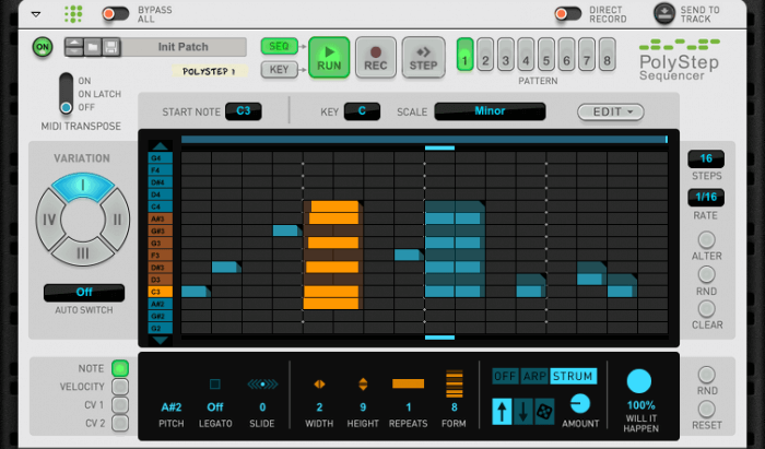 Propellerhead Software PolyStep Sequencer