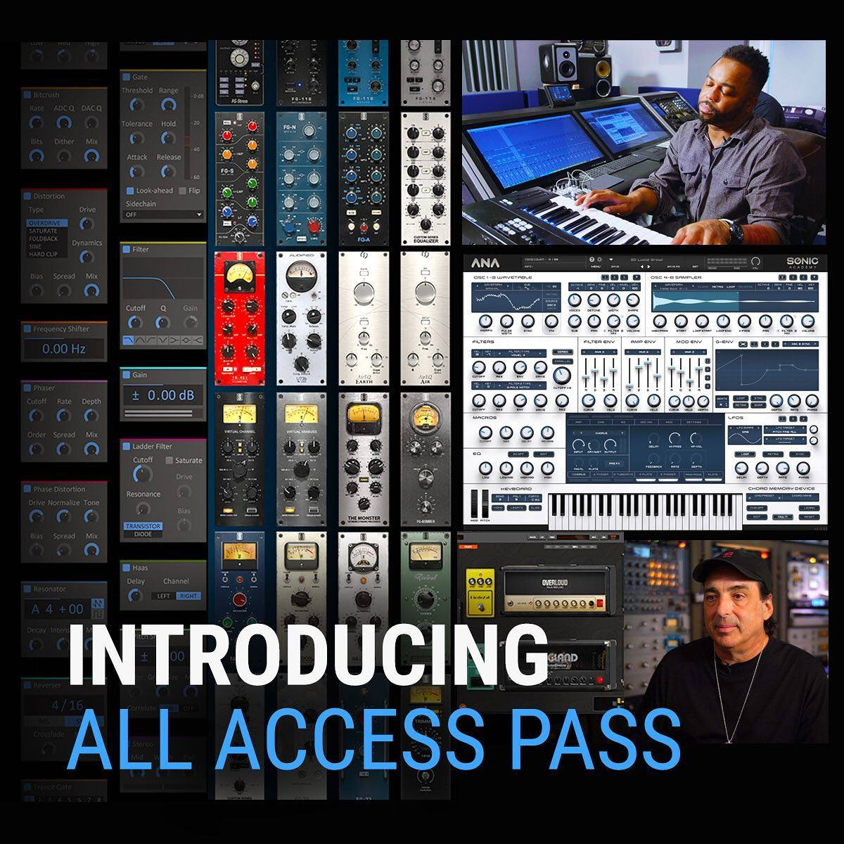 Slate Digital All Access Pass Introduced: SD Plugins, ANA 2 Synth & More