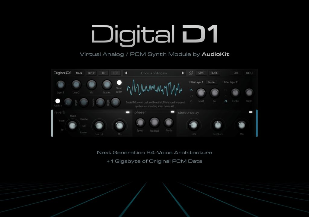Audiokit Digital D1 Synthesizer