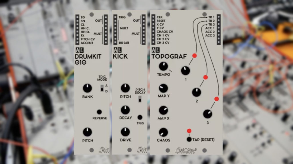 Tangible Waves Drum Modules