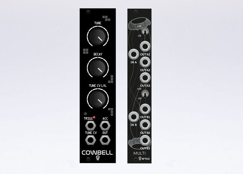 Erica Synths Cowbell Black Multi