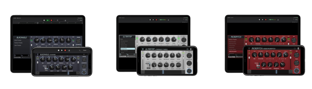 Eventide AUv3 Apps