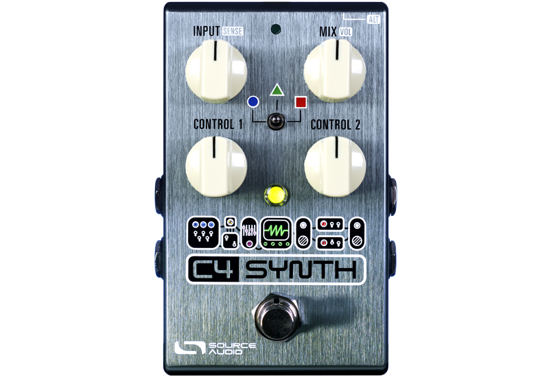 source audio c4 synth is a modular synthesizer in a guitar pedal. Black Bedroom Furniture Sets. Home Design Ideas