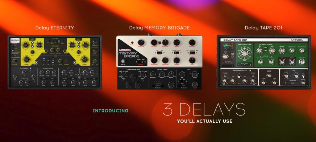 Arturia 3 Delays You'll Actually Use