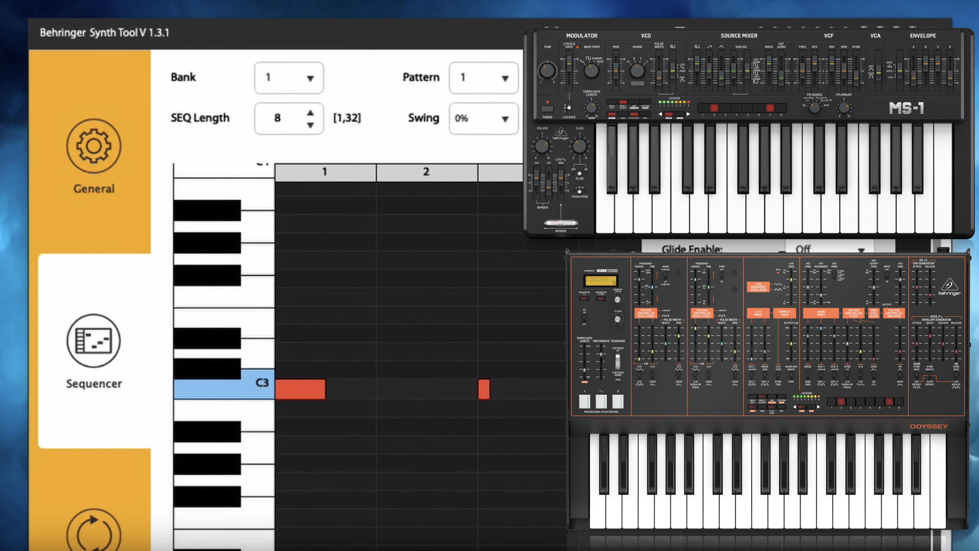 Behringer Synth Tool Features A Sequencer Editor For MS-1