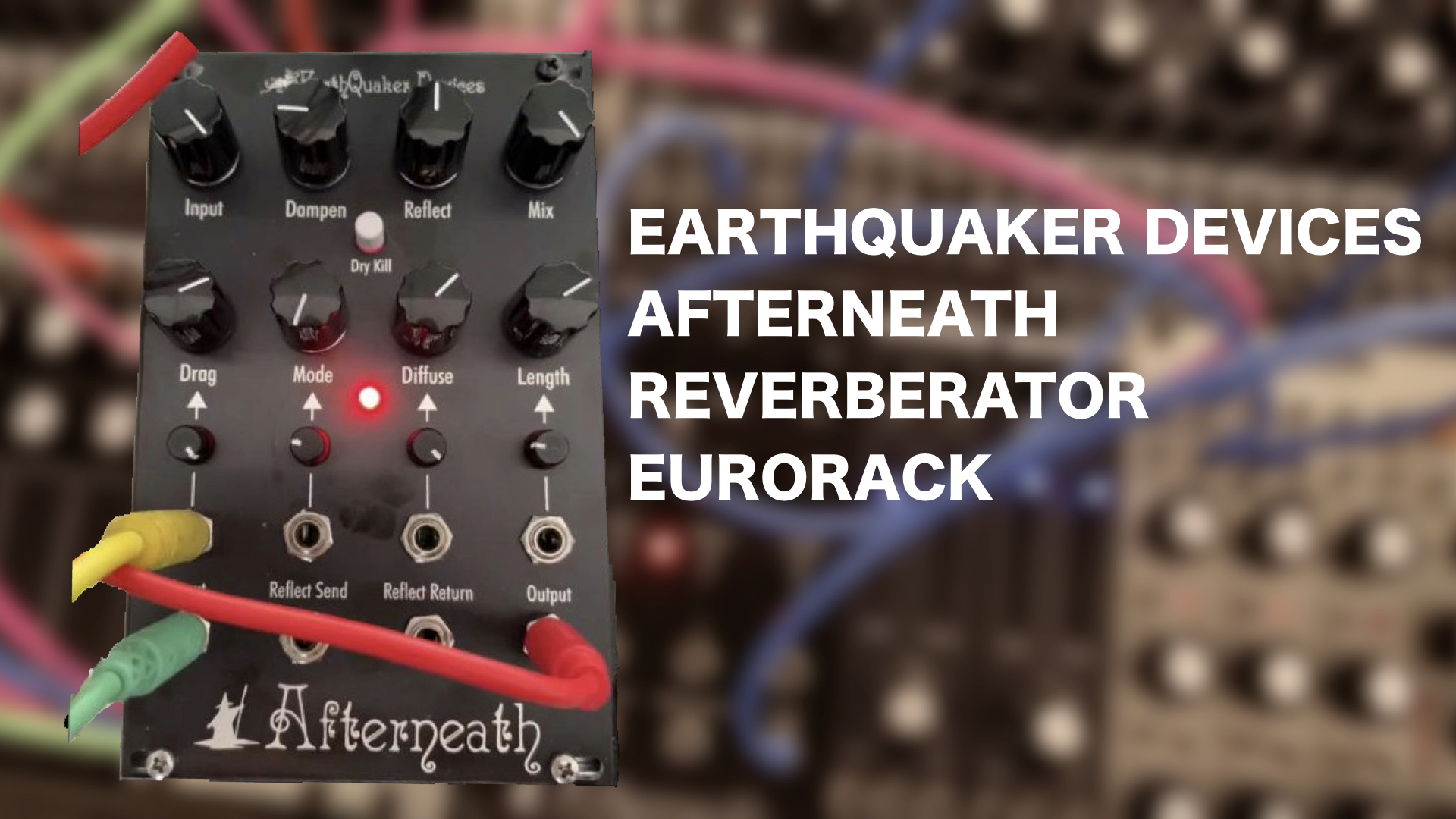 Earthquaker Devices Afterneath Reverb Is The First