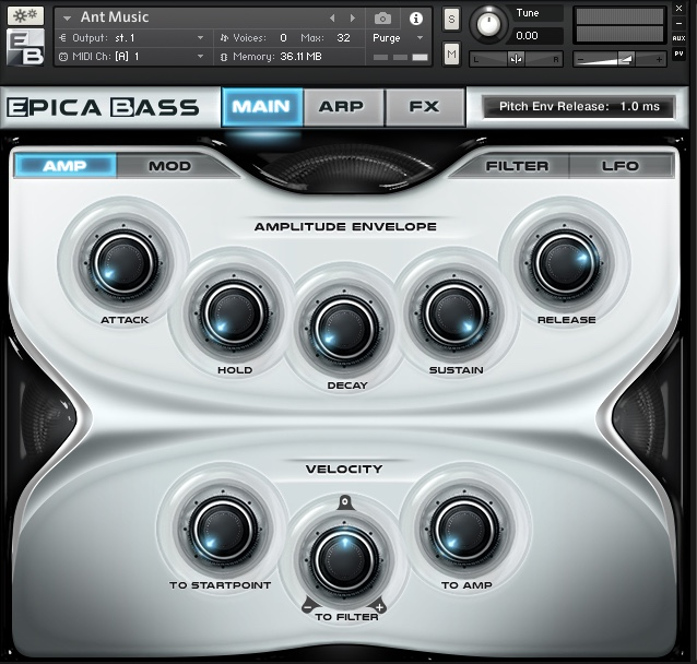Zero-G Sam Spacey Epica Bass Review, Kontakt Player