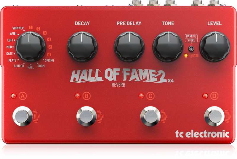 TC Electronic Hall Of Fame 2 x 4