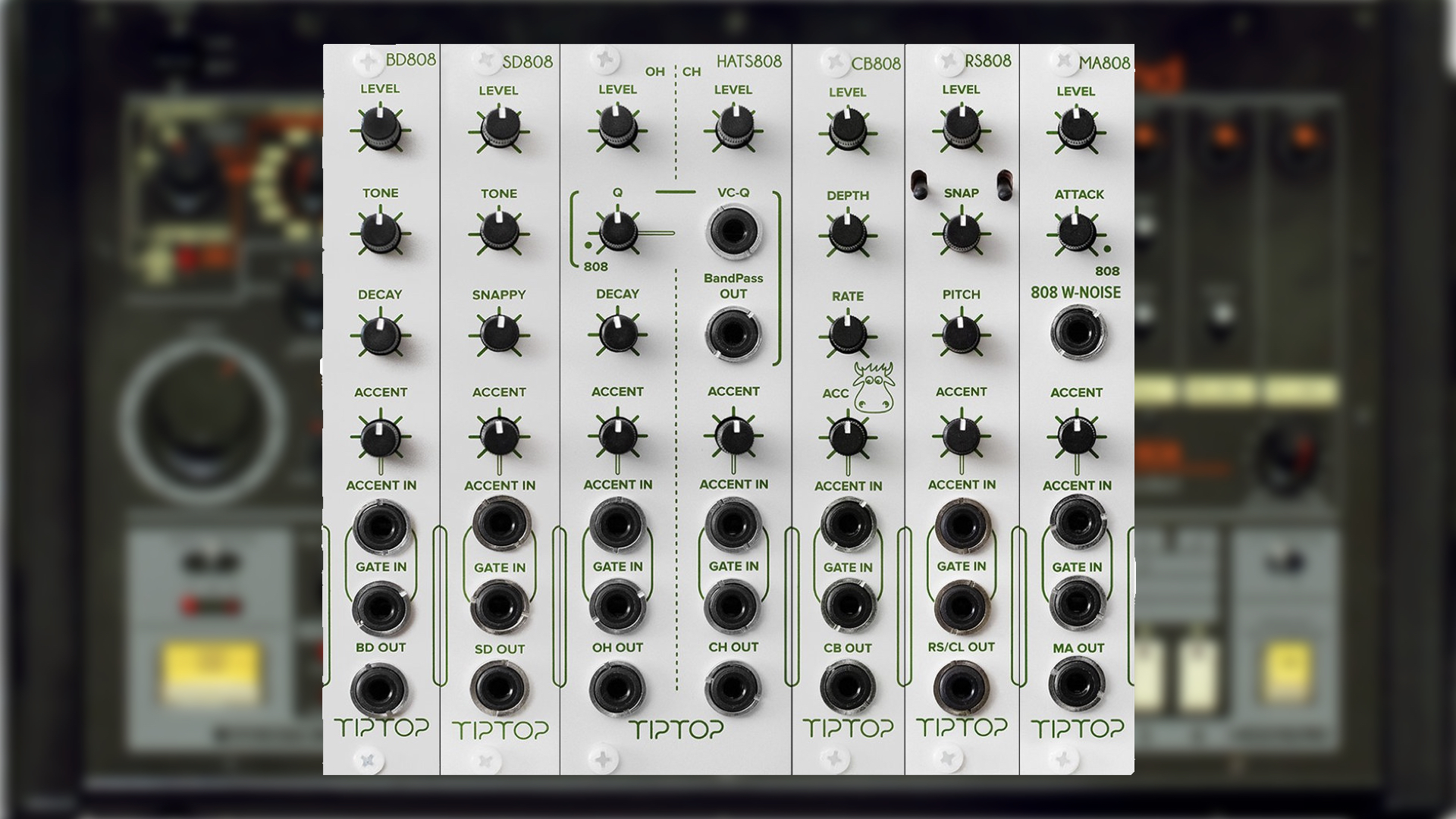 Tiptop Audio 808 Anniversary Bundle With 6 Eurorack Modules Announced