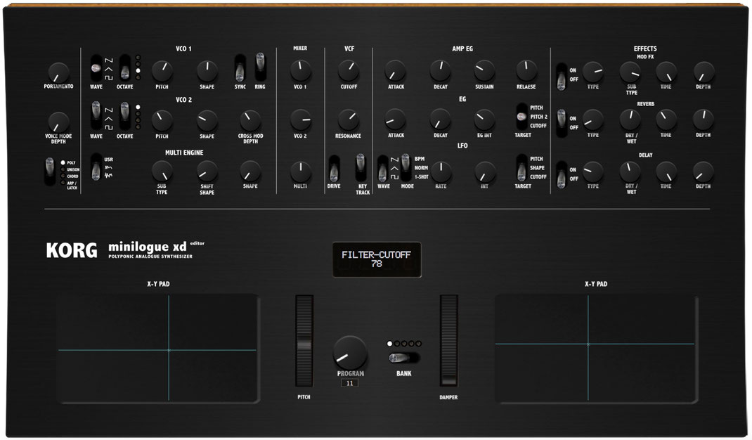 First KORG Minilogue XD Editor Released By Momo Müller