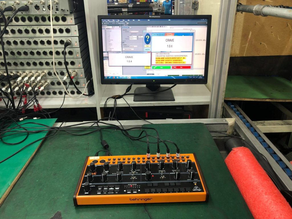 Behringer Crave Production 1