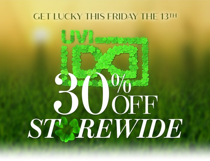 UVI Lucky Sale