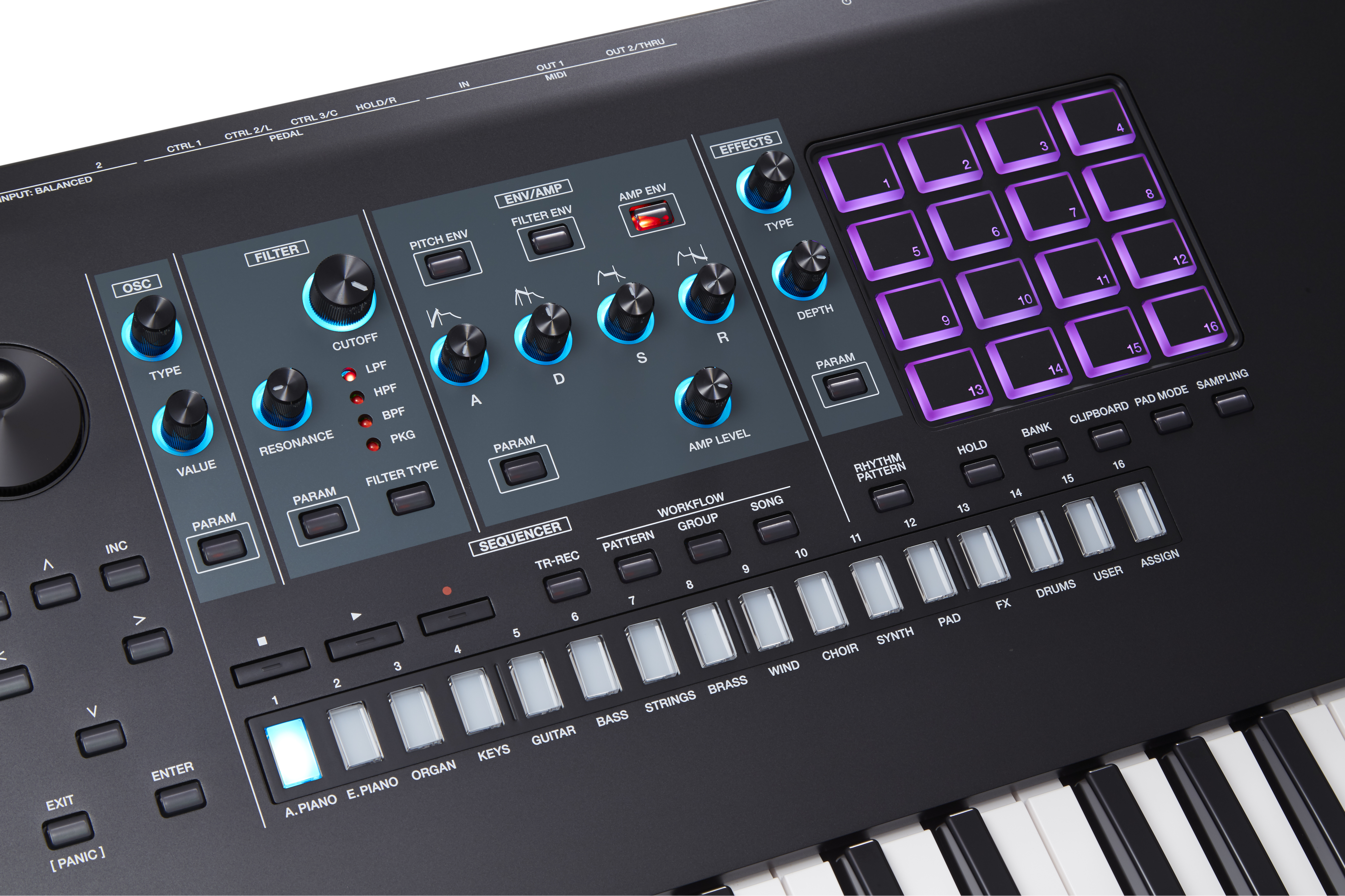 Roland FANTOM Flagship Keyboard Series Introduced With New