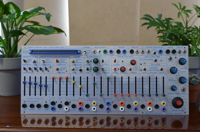 Buchla Easel Command / 208c Synthesizer