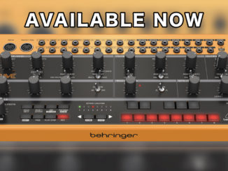 Behringer Crave available now