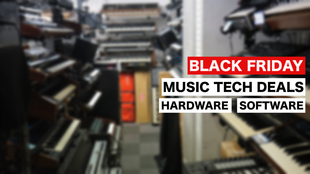 Black Friday Music Tech