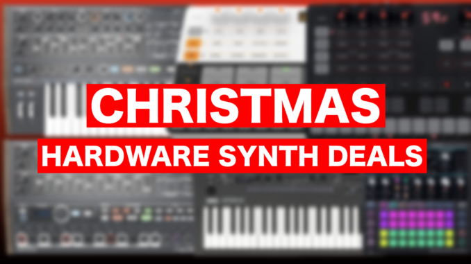 Christmas hardware synth deals