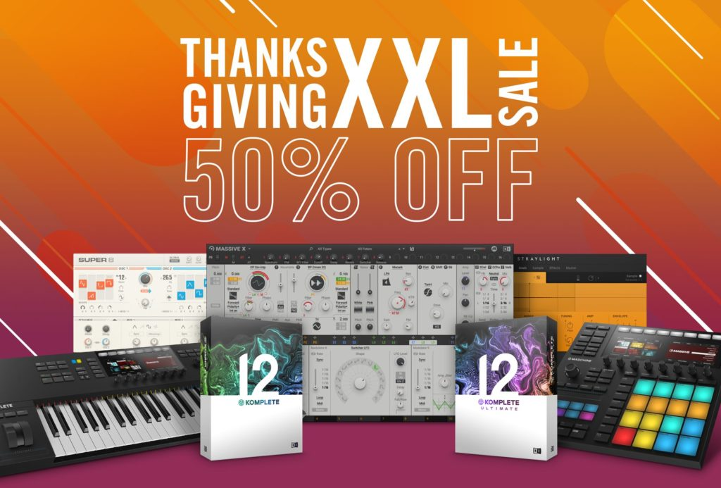 Native Instruments Thanksgiving Sale