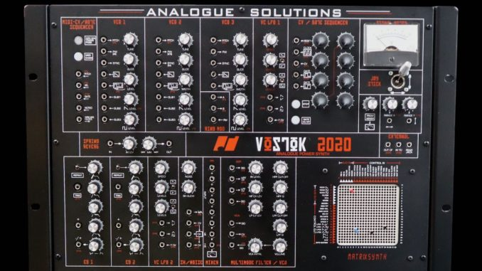 Analogue Solutions Vostok2020