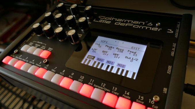 LD 3 Percussion Synthesizer