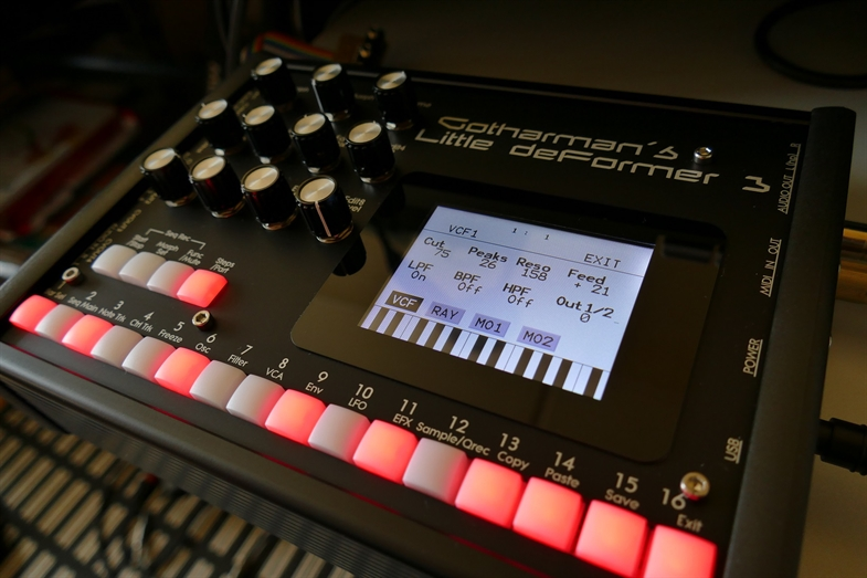 Gotharman's LD3 Percussion Synthesizer