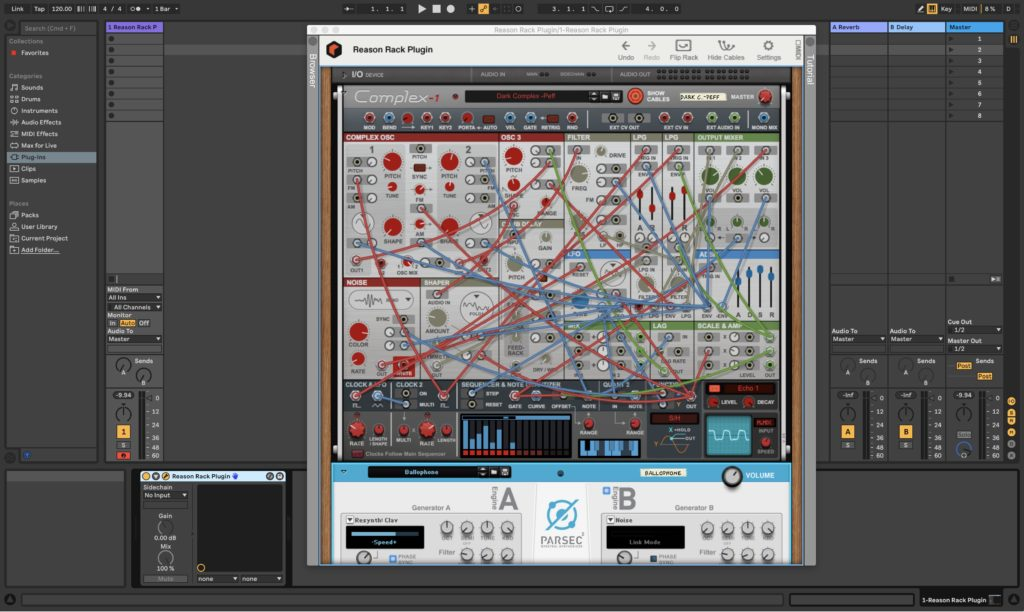 Reason Complex-1 Synthesizer