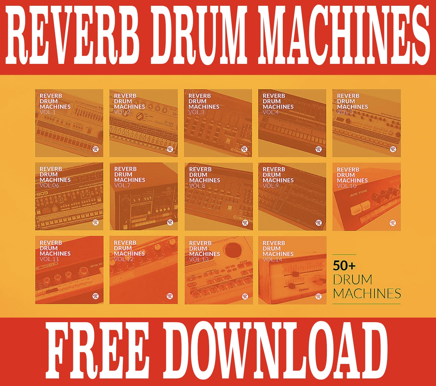 Reverb Drum Machines