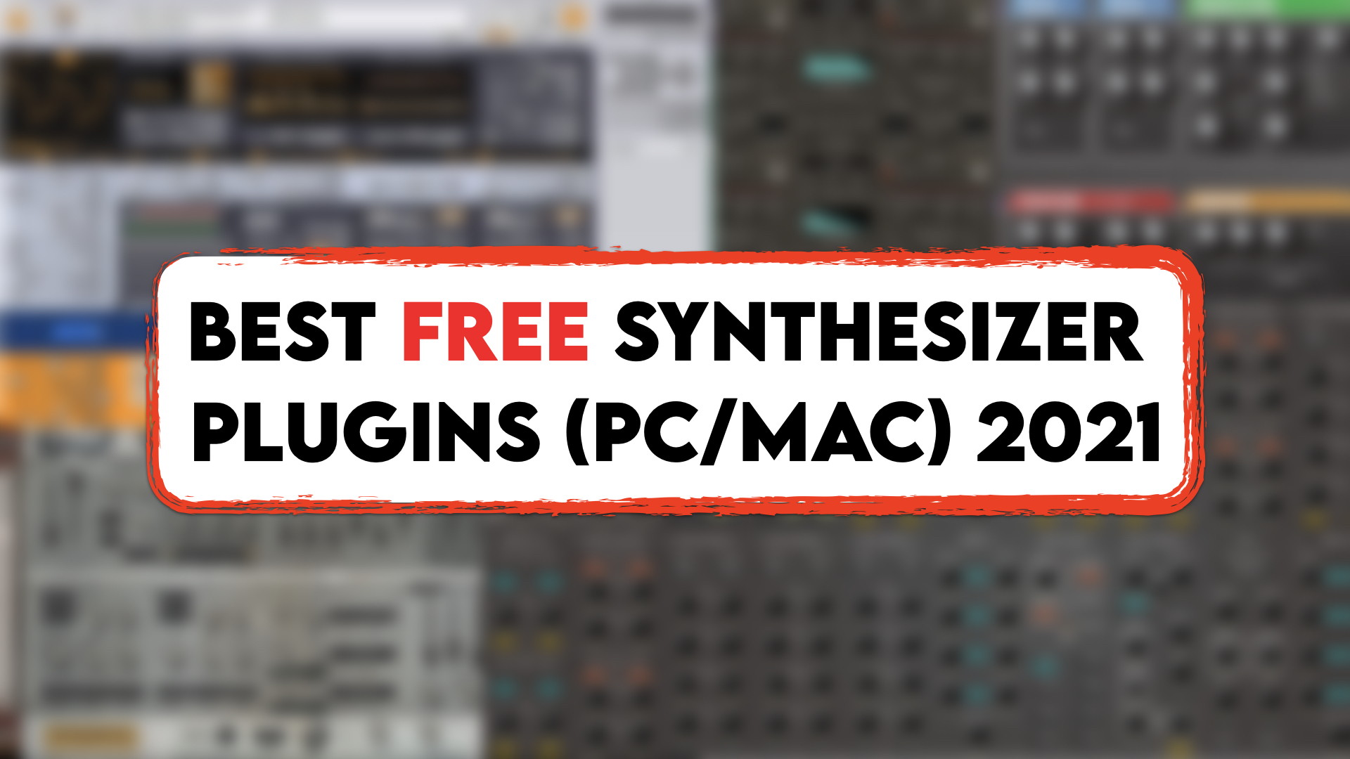 Best Free Synthesizer Plugins For Pc Mac Vst Au