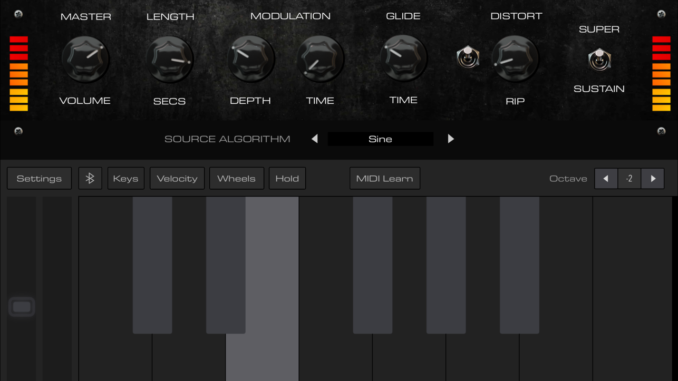 Bass 808 Synth