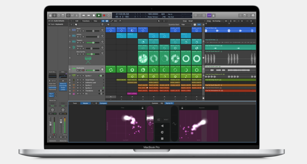 Logic Pro X Loops Feature