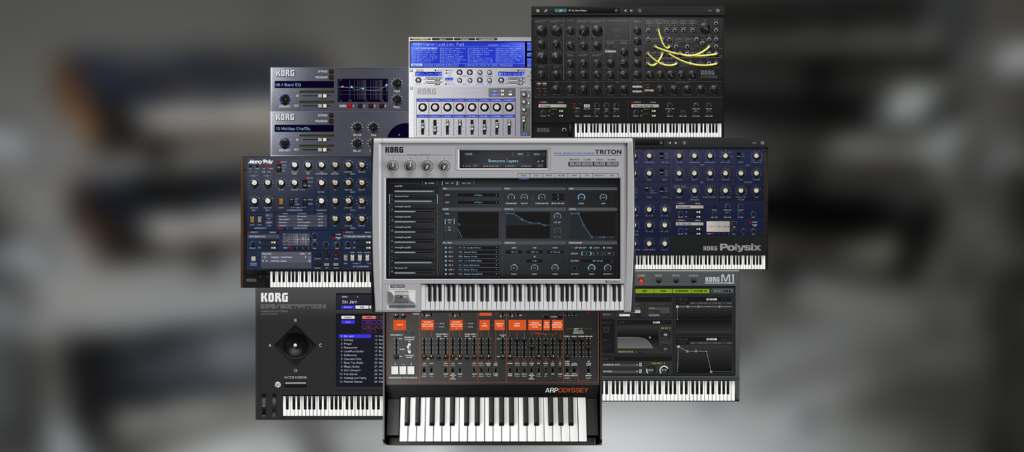 Korg Collection 2 GUI