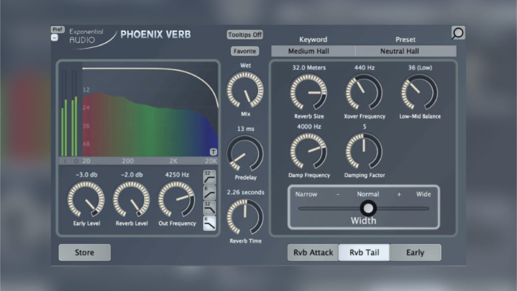 Exponential Audio PhoenixVerb Stereo