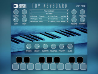 SampleScience Toy Keyboard