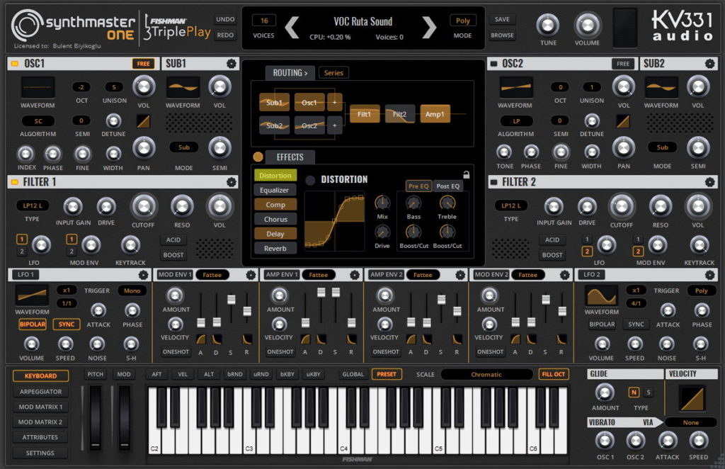 KV331 Audio Synthmaster One 1.4