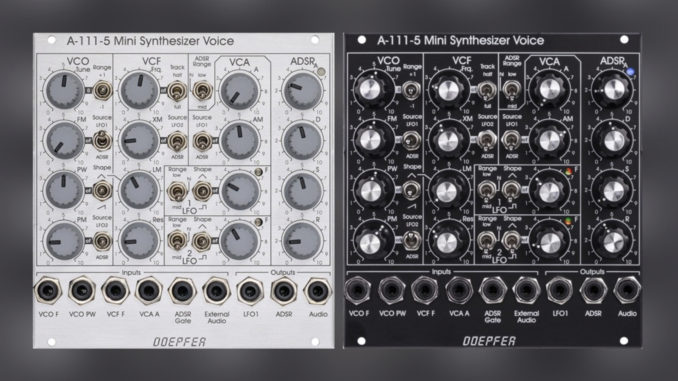 Dopefer A-111-5 Mini Synthesizer Voice