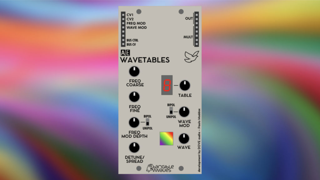 Tangible Waves Wavetables
