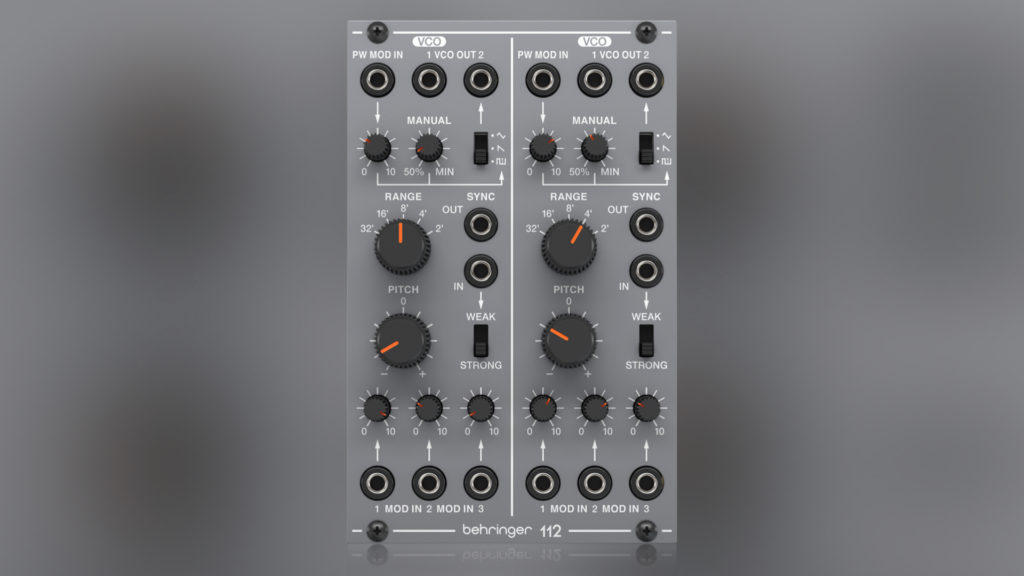 Behringer 112 VCO Tuning