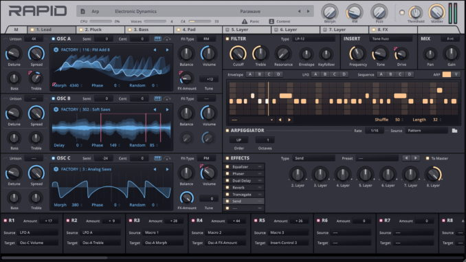 Rapid Synthesizer 1.8.5
